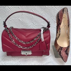 New and Authentic Bag & Shoe Set!